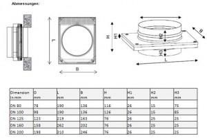 FS technische Zeichnung