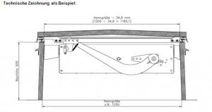 DK 165 techn. Zeichnung